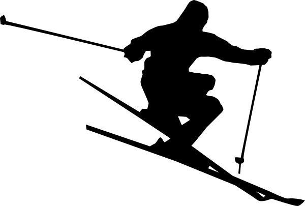 Skier Png, doing trick